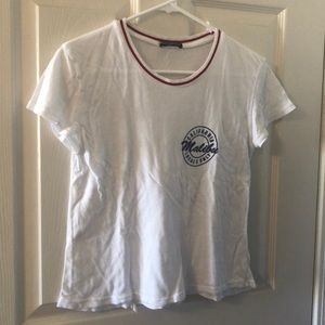 Brandy Melville white Malibu top